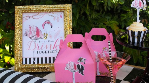 Fancy Flamingo Mother's Day Party via Kara's Party Ideas | KarasPartyIdeas.com (1)