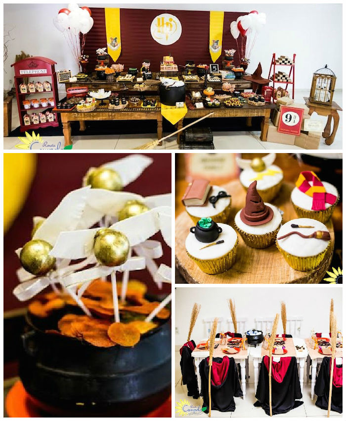 Kara's Party Ideas Harry Potter Birthday Party Via Kara's