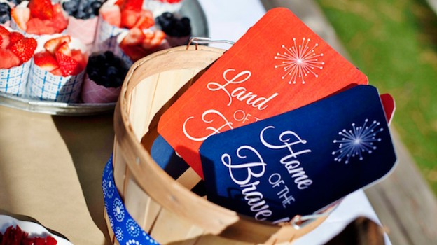 July 4th Patriotic Picnic via Kara's Party Ideas | The Place for all of your party needs! KarasPartyIdeas.com (1)