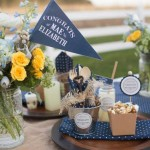 Keys to Success Denim Graduation Party via Kara's Party Ideas | KarasPartyIdeas.com (2)