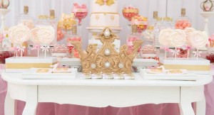 Pink & Gold Princess Party via Kara's Party Ideas | KarasPartyIdeas.com (2)