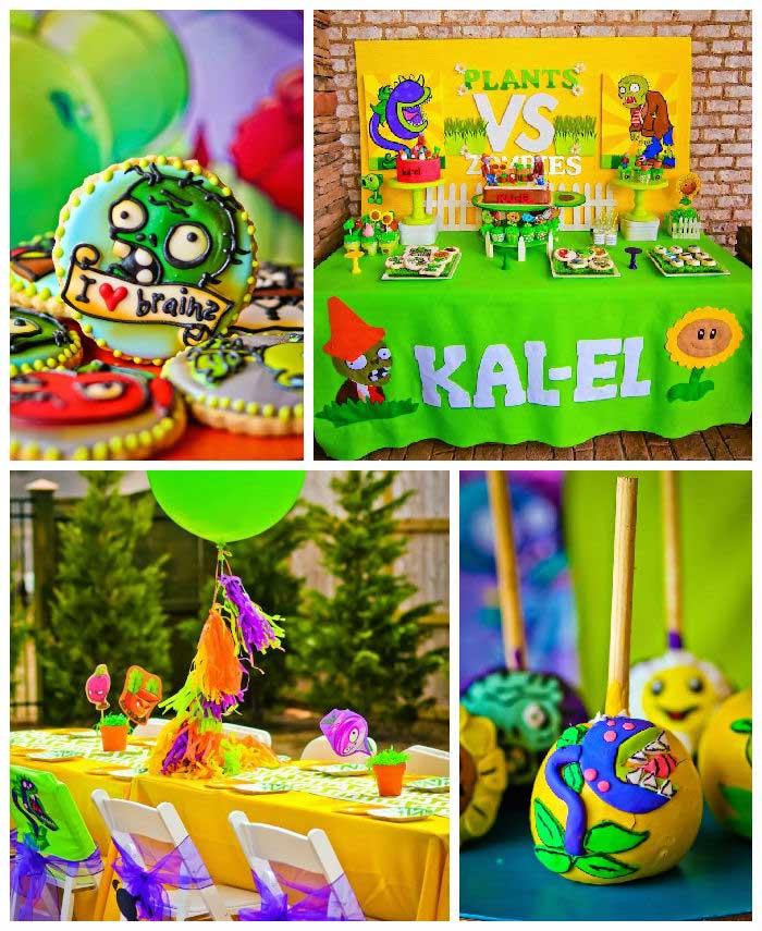 Kara's Party Ideas » Plants Vs Zombies Themed Birthday