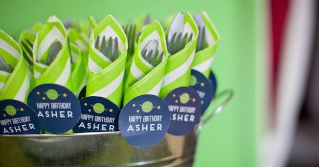 Rocket Ship Birthday Party via Kara's Party Ideas | KarasPartyIdeas.com (2)
