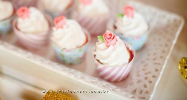 Shabby Chic Princess themed 1st birthday party via Kara's Party Ideas | KarasPartyIdeas.com (2)
