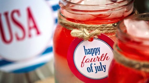 Vintage 4th Of July Freedom Party via Kara's Party Ideas | KarasPartyIdeas.com (2)