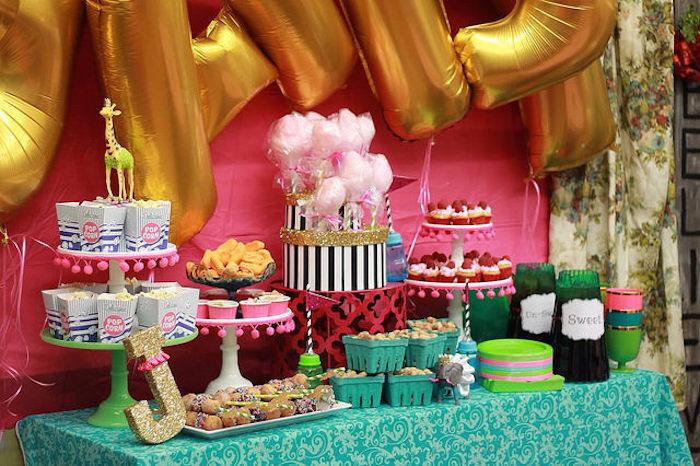 Vintage Glam Circus Themed Baby Shower Via Karau0027s Party Ideas |  KarasPartyIdeas.com (21