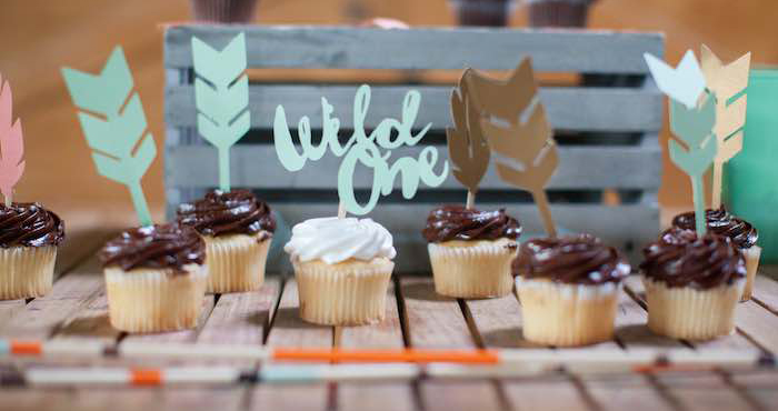 Kara's Party Ideas Wild One Boho 1st Birthday Party