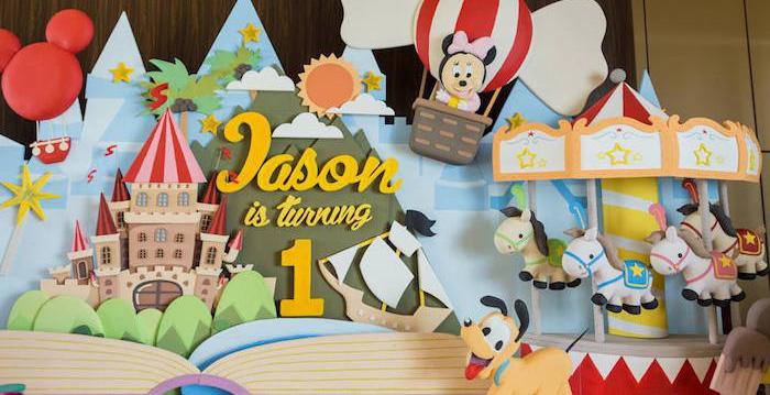 Kara S Party Ideas Baby Mickey Amp Friends Birthday Party