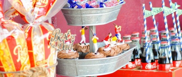 Baseball party for Father's Day by Kara Allen | Kara's Party Ideas for Coca-Cola #shareacoke #shareacokecontest_-56