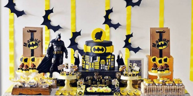 Batman Birthday Party via Kara's Party Ideas | KarasPartyIdeas.com (1)