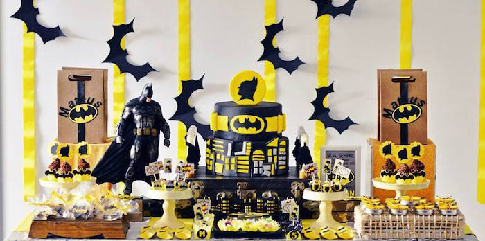 Kara S Party Ideas Batman Birthday Party