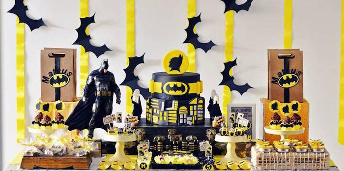 Kara S Party Ideas Batman Birthday Party