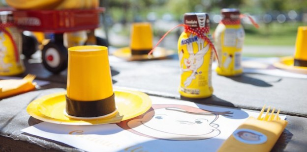 Curious George themed birthday party via Kara's Party Ideas | KarasPartyIdeas.com (1)
