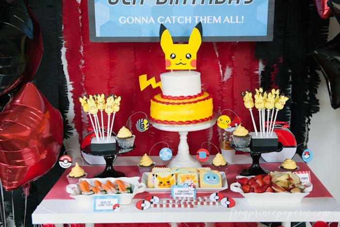 kara u0026 39 s party ideas easy pokemon birthday party ideas via