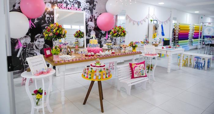 kara u0026 39 s party ideas elegant boutique   sewing birthday party