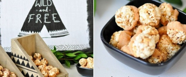 Fisher Nut Exactly Snack Bites + Woodland Camping Birthday Party Ideas via Kara Allen | KarasPartyIdeas.com.jpg