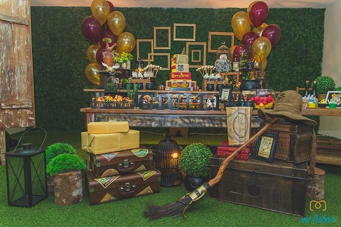 День рождения для детей в стиле гарри поттер своими руками 36