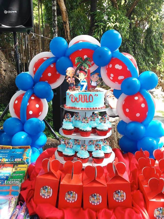 Jake The Pirate Birthday Party Ideas - Birthday Party Ideas