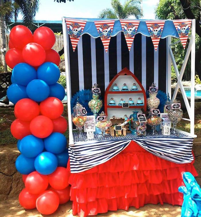 Jake The Neverland Pirates Themed Birthday Party Via Karas Ideas