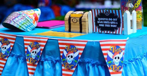 Jake & the Neverland Pirates themed birthday party via Kara's Party Ideas | KarasPartyIdeas.com (2)