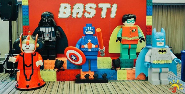 Lego + Superhero Birthday Party via Kara's Party Ideas | KarasPartyIdeas.com (1)