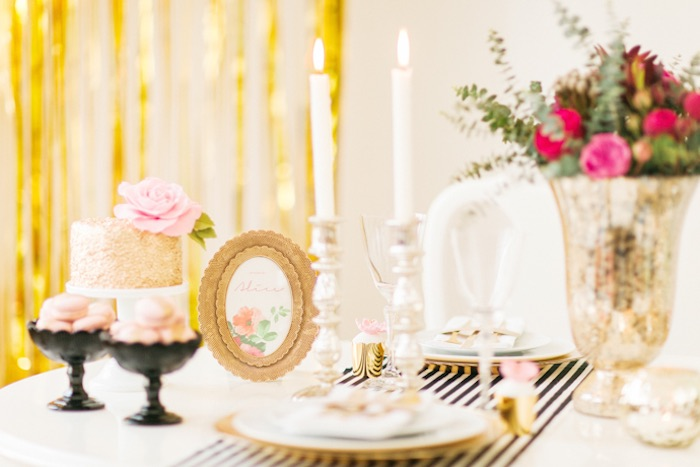 Kate Spade Themed Party Decor from www.karaspartyideas.com