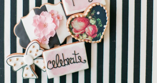 Modern Glam Kate Spade Birthday Party via Kara's Party Ideas | KarasPartyIdeas.com (2)