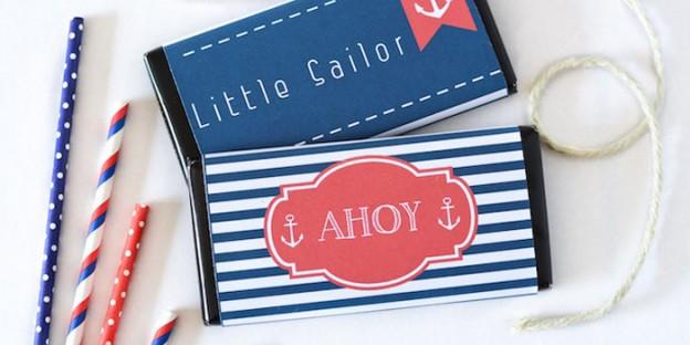 Nautical themed Baby Shower via Kara's Party Ideas | KarasPartyIdeas.com (1)