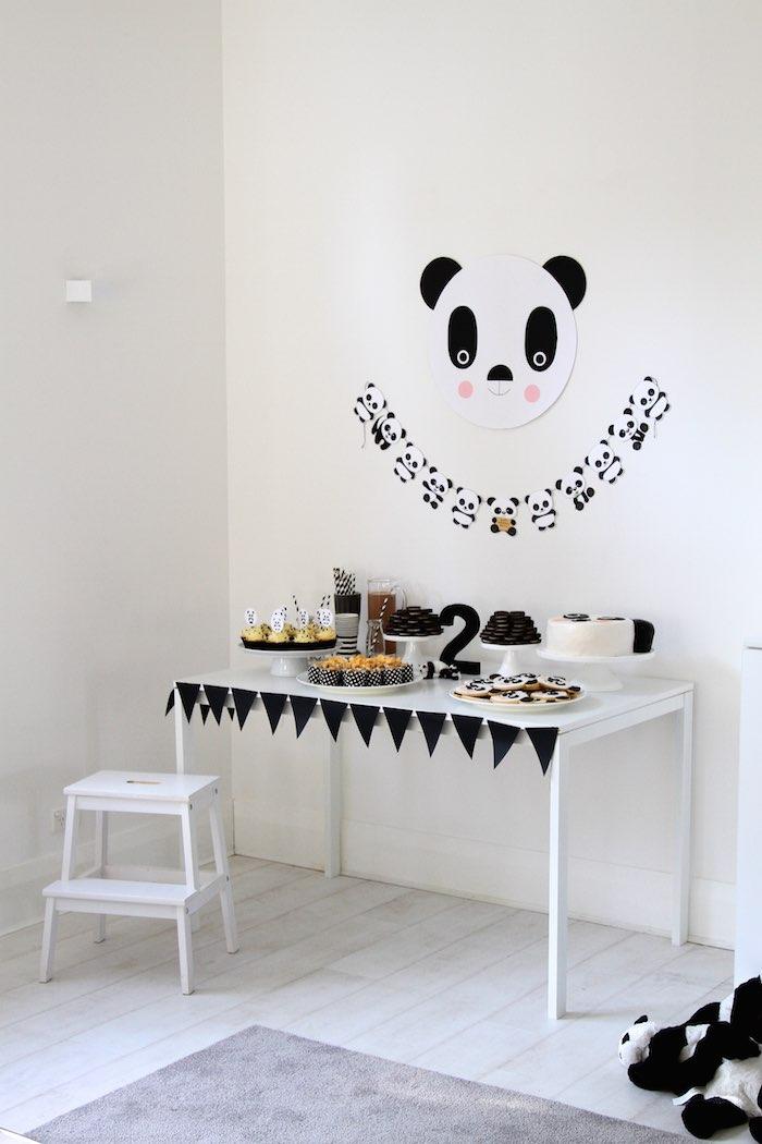 Kara S Party Ideas 187 Panda Bear Birthday Party Via Kara S