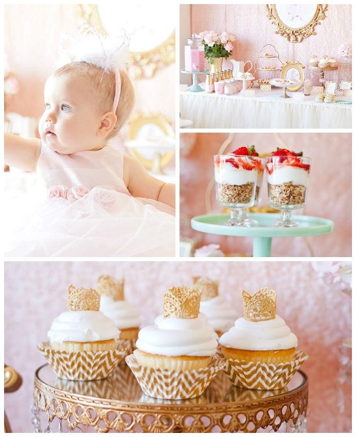 Royal Princess 1st Birthday Party Via Karas Ideas