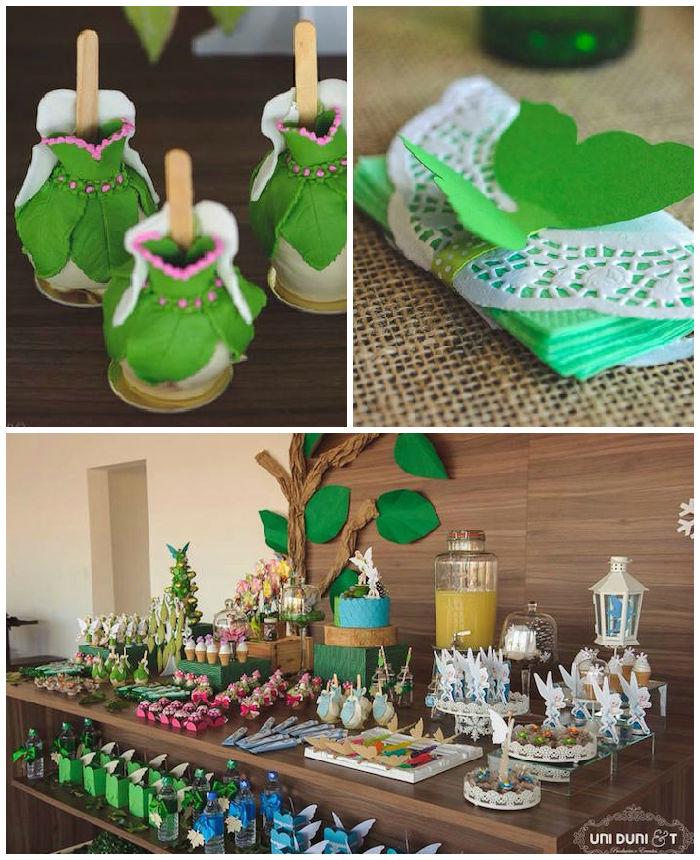 Kara's Party Ideas Tinkerbell Inspired Woodland Fairy ...