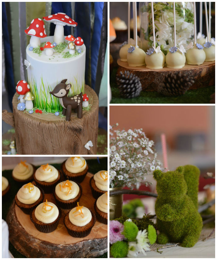 kara 39 s party ideas woodland baby shower via kara 39 s party ideas