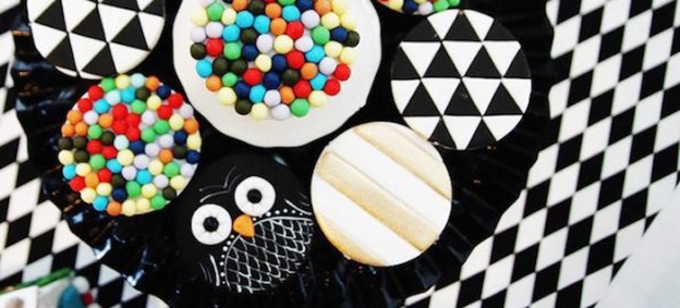 Hipster Geometric Owl 1st Birthday Party via Kara's Party Ideas | KarasPartyIdeas.com (1)