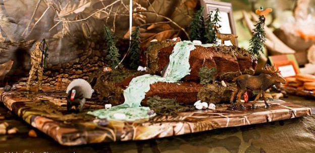 Hunting themed Birthday Party via Kara's Party Ideas KarasPartyIdeas.com (2)