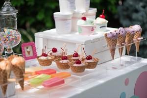 Ice Cream 1st Birthday Party via Kara's Party Ideas | KarasPartyIdeas.com (20)