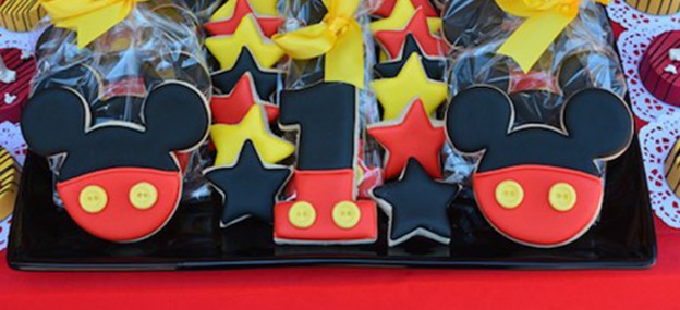 Mickey Mouse themed 1st birthday party via Kara's Party Ideas | KarasPartyIdeas.com (2)