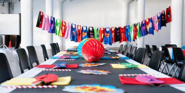 Modern Urban Superhero Party via Kara's Party Ideas | KarasPartyIdeas.com (2)