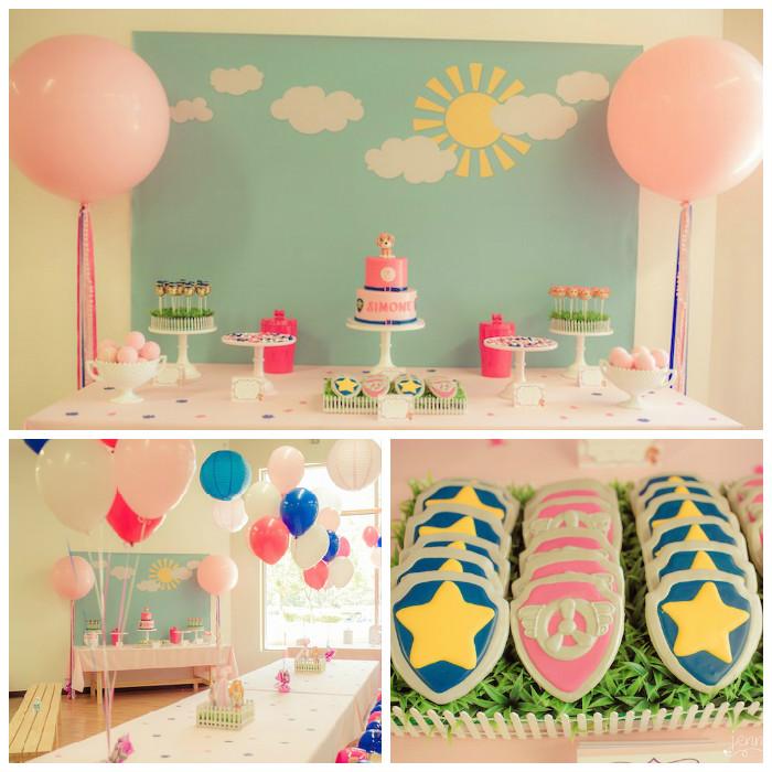 Kara S Party Ideas Pink Amp Blue Paw Patrol Birthday Party