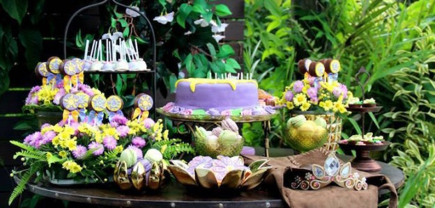 Rapunzel + Tangled Inspired Birthday Party via Kara's Party Ideas | The Place for All Things PARTY! KarasPartyIdeas.com (1)