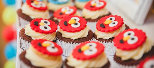 Sesame Street themed 1st Birthday Party via Kara's Party Ideas | KarasPartyIdeas.com (1)