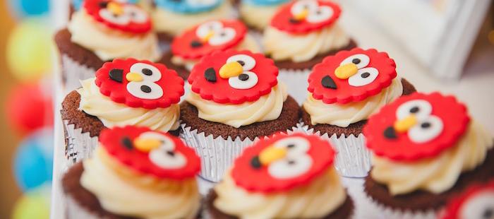 Kara S Party Ideas Sesame Street 1st Birthday Party