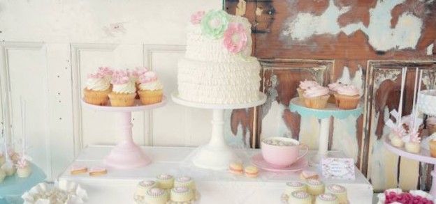 Shabby Chic Tea Party via Kara's Party Ideas | KarasPartyIdeas.com (5)