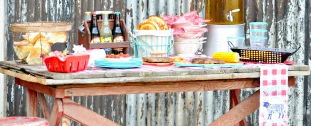 Summer BBQ on the farm party by Kara Allen | Kara's Party Ideas for Kohl's