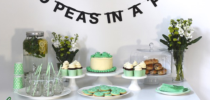 party ideas two peas in a pod baby shower via kara 39 s party ideas
