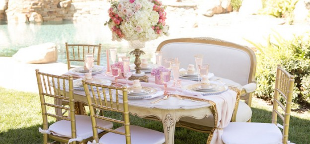 Vintage Glam Princess Birthday Party via Kara's Party Ideas | KarasPartyIdeas.com (2)