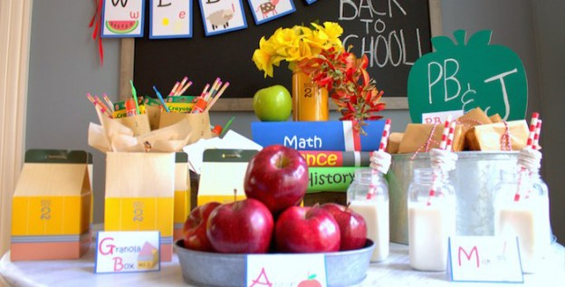 Back To School Party via Kara's Party Ideas | KarasPartyIdeas.com (1)