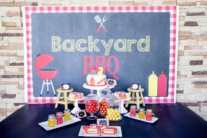 Kara S Party Ideas Backyard Bbq Birthday Party Via Kara S