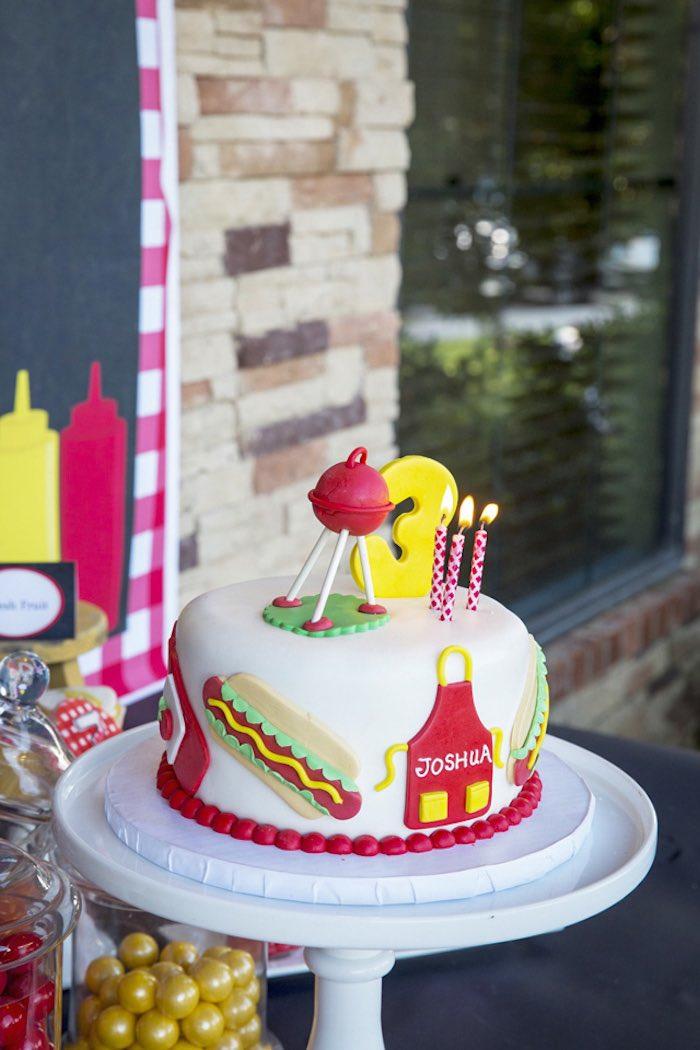 Kara S Party Ideas Backyard Bbq Birthday Party Via Kara S
