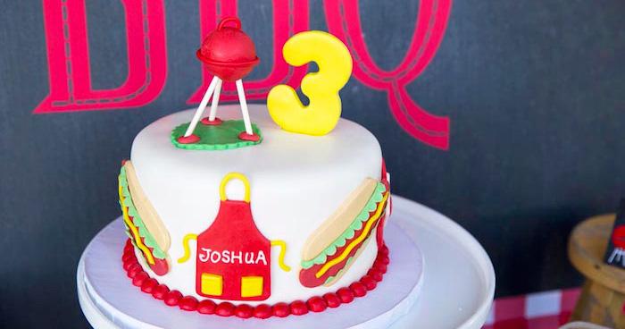 Kara S Party Ideas Backyard Bbq Birthday Party Kara S