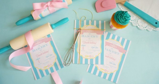 Bakery Birthday Party via Kara's Party Ideas | Party ideas, supplies, printables, desserts, invitations, activities and more! KarasPartyIdeas.com (5)